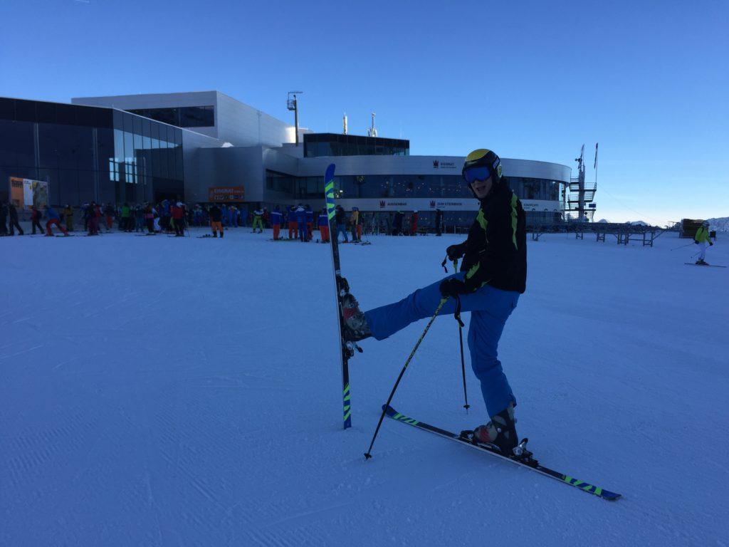 Moja druga wielka pasja- narciarstwo.