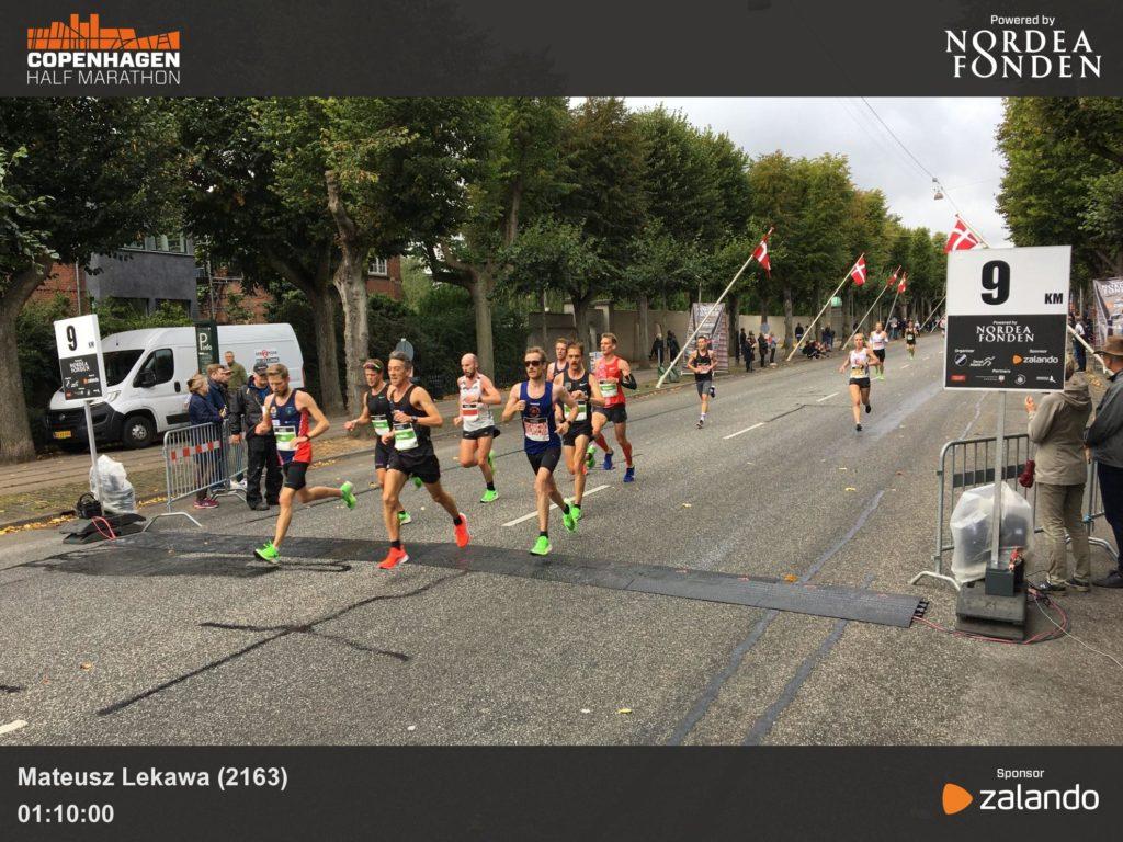Kopenhaga półmaraton 9km