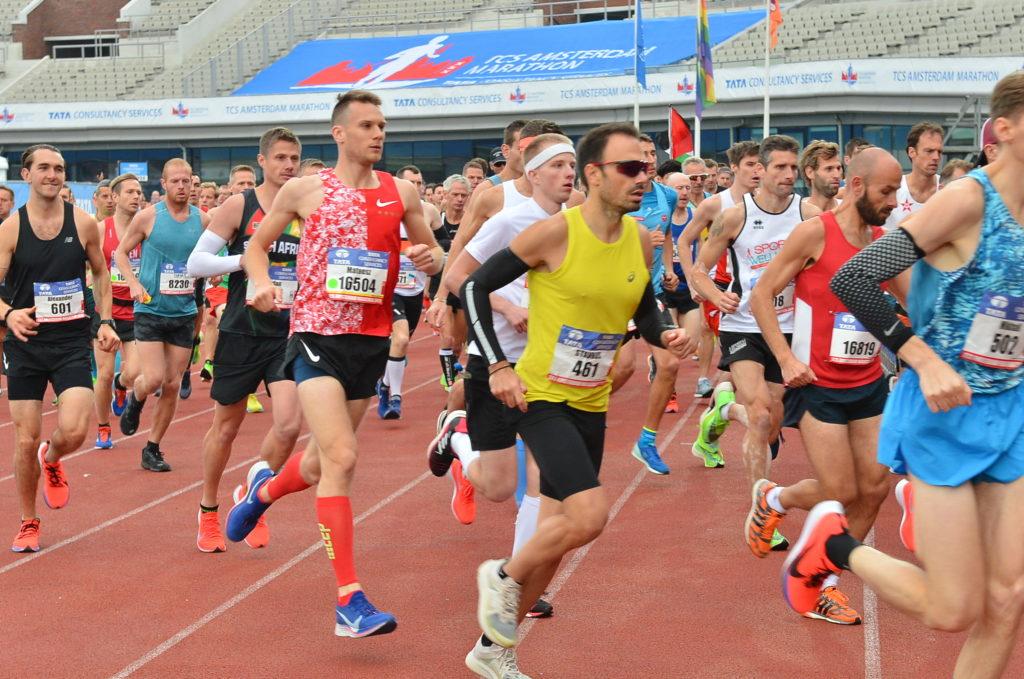 Start Amsterdam Marathon