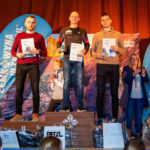 Podium Łemkowyna Winter Trail